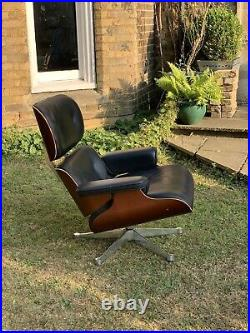 Vitra Charles & Ray Eames 670 Lounge Chair and 671 Ottoman 1956 Mid Century